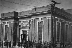 Manitoba Archives. Winnipeg Buildings – Ukrainian Labour Temple corner of Pritchard and McGregor.